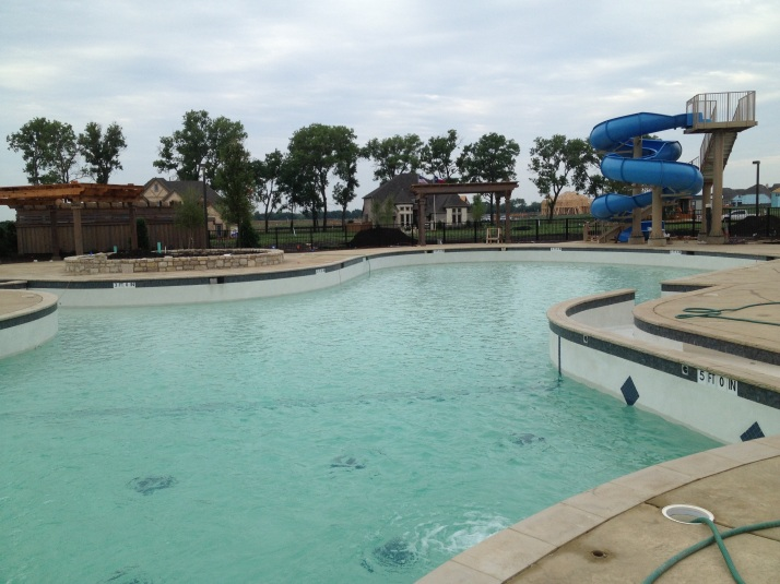 Richwoods Pool In Frisco Has Water!!! | Update Frisco | Richwoods | Lawler Park | Phillips Creek ...