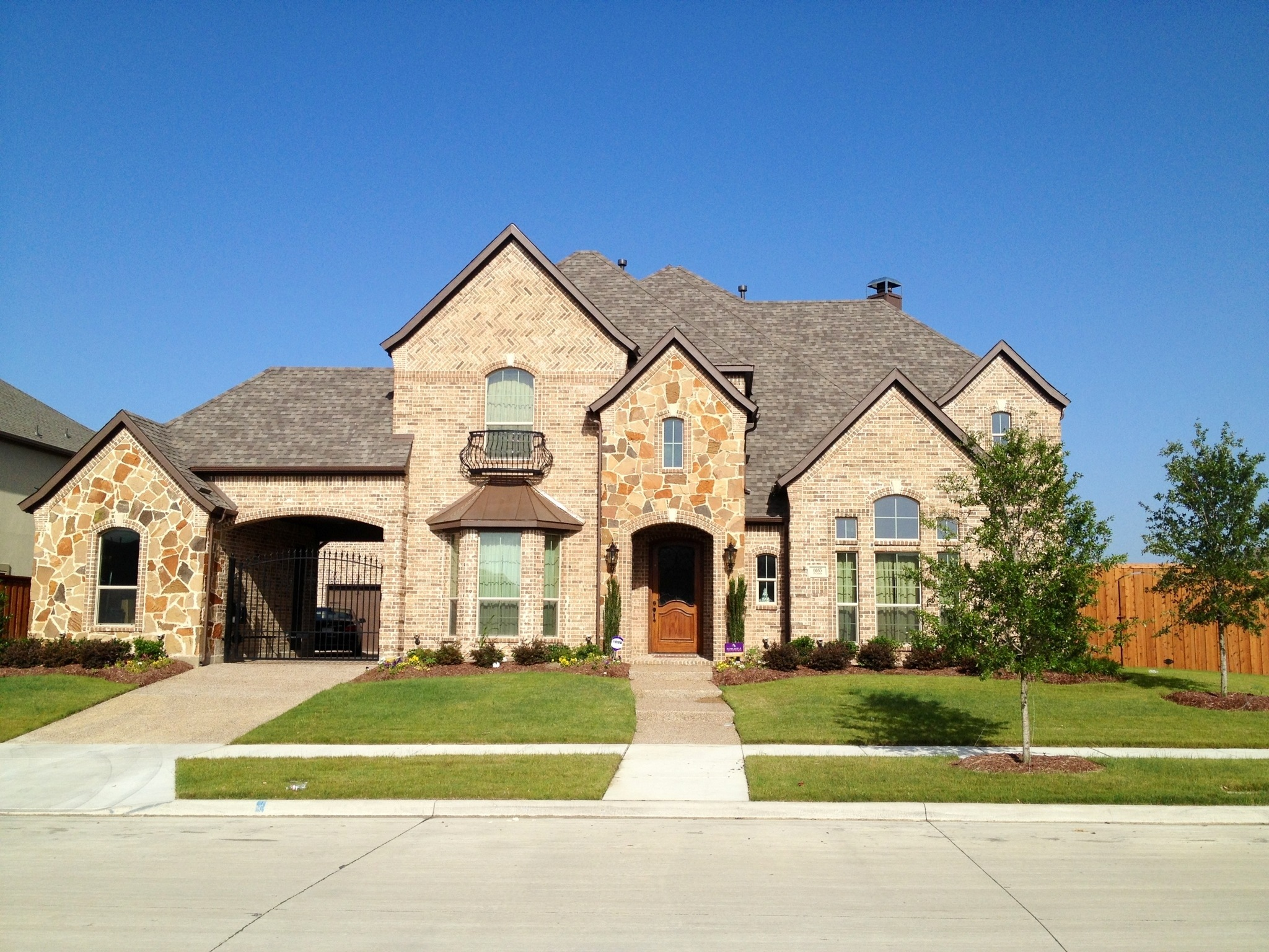 wow newcastle homes in richwoods in frisco update