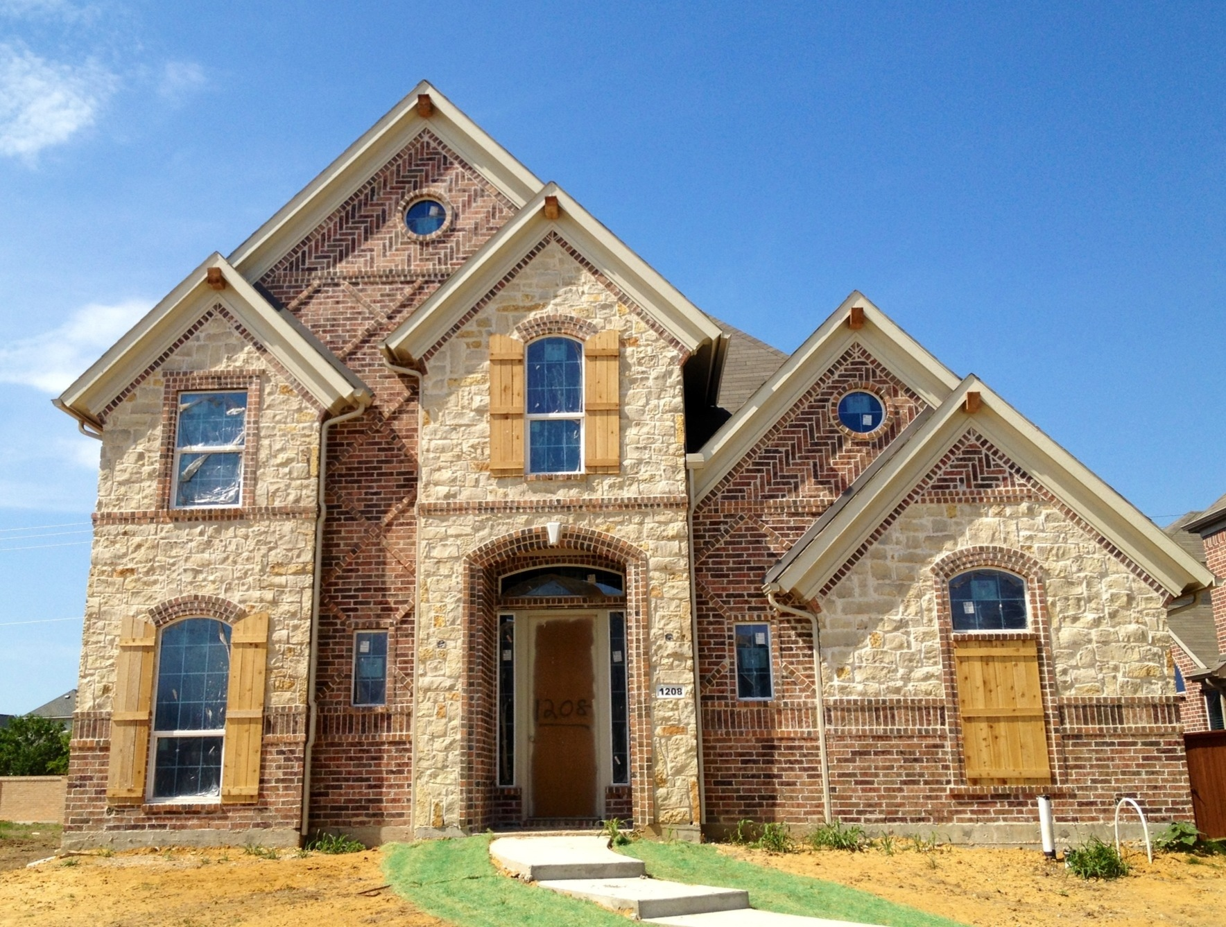 Landon homes in richwoods hollow model near completion - Model homes near me ...