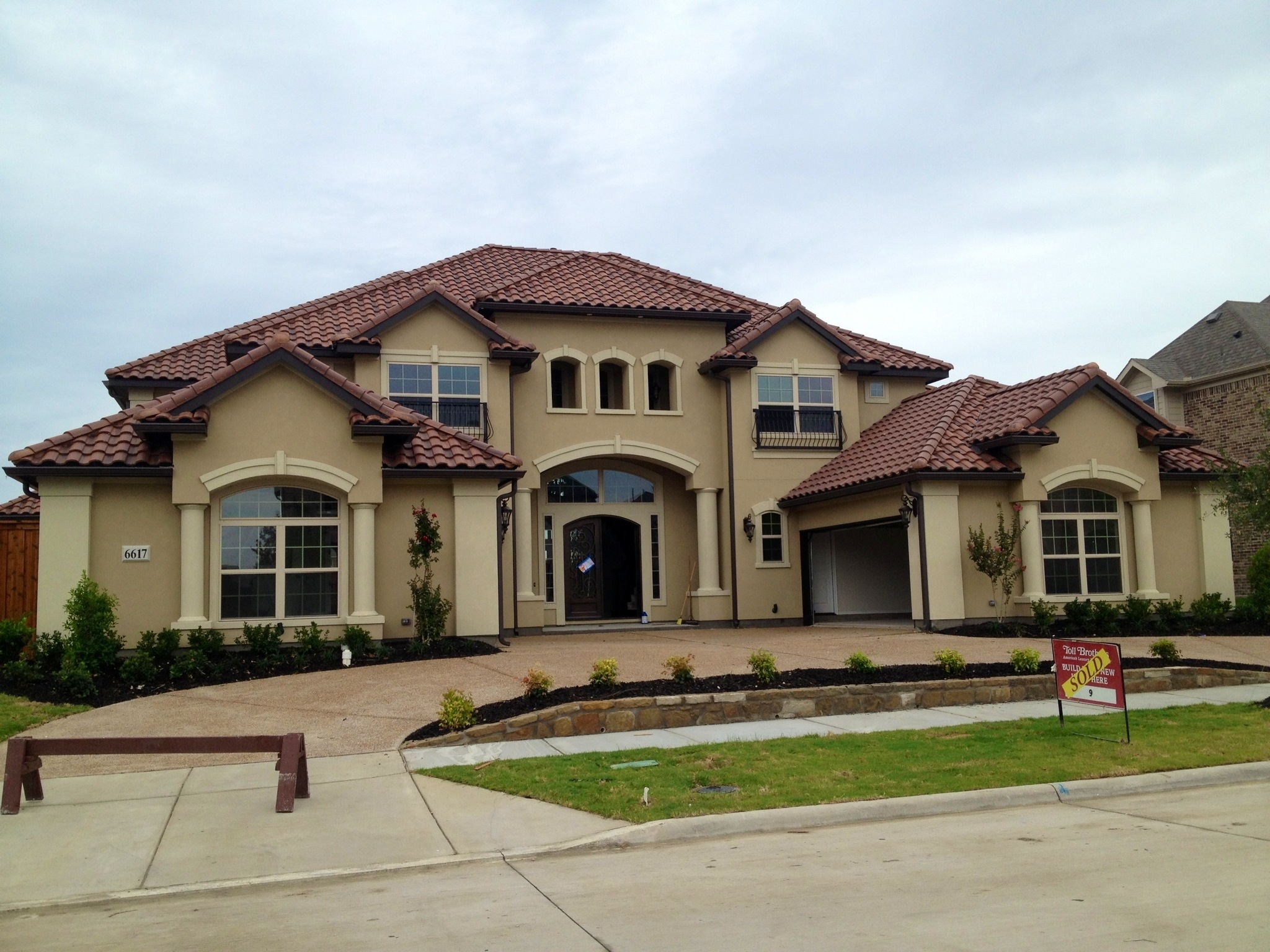 Toll brothers phillips creek ranch update frisco for Home designs newcastle