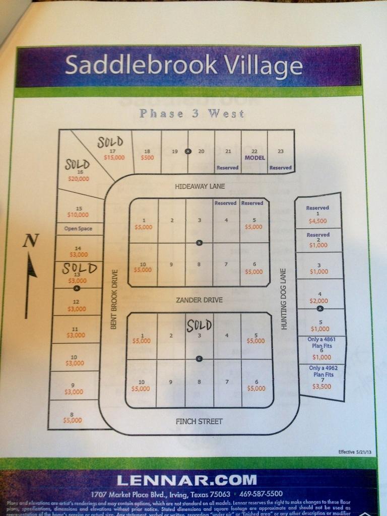 Saddlebrook Village by Lennar Homes in Frisco   Update ...