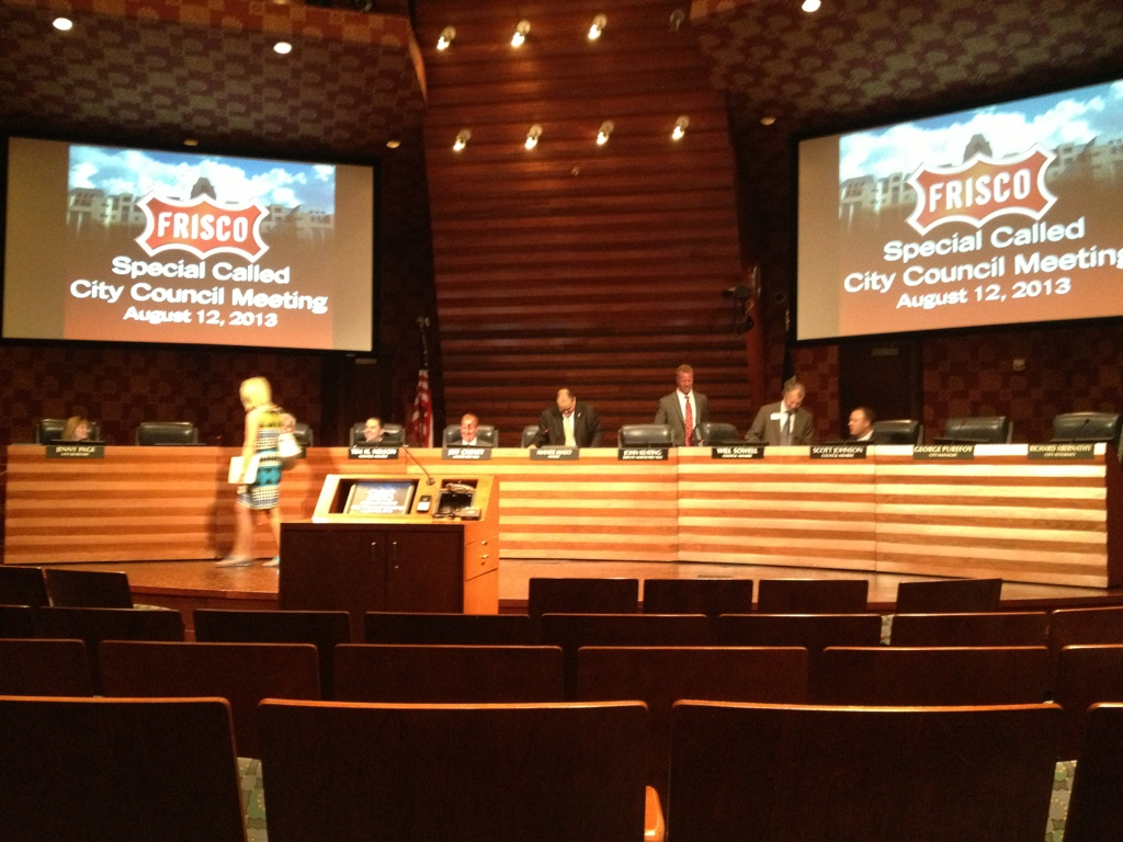 City Of Frisco Agreement