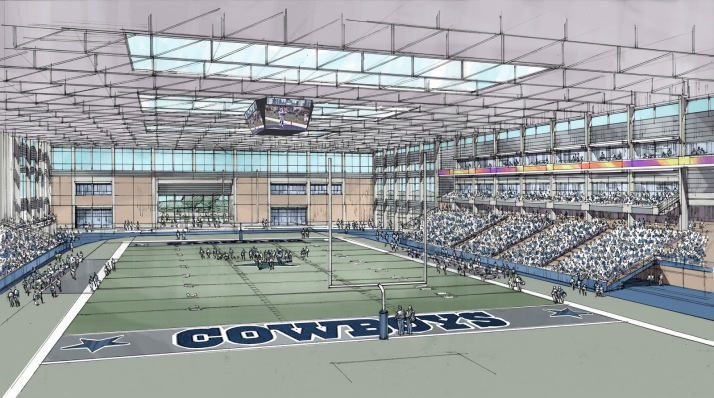 Dallas Cowboys Training Facility in Frisco