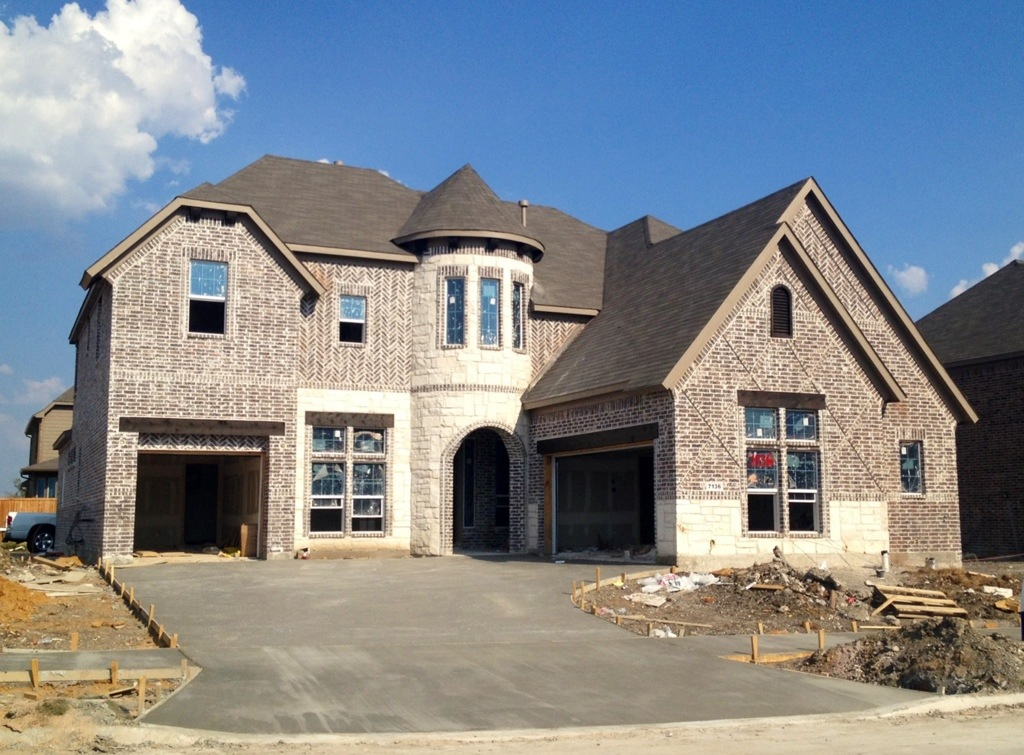 Landon homes richwoods update frisco richwoods for The landon house