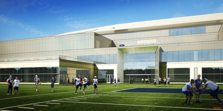Ford Center at the Star Conceptual in Frisco