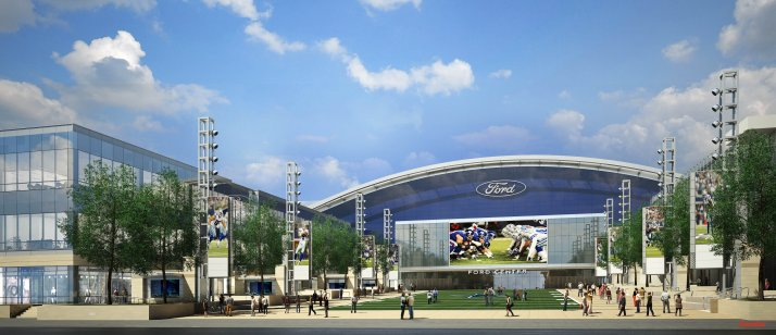 Ford Center at the Star Conceptual