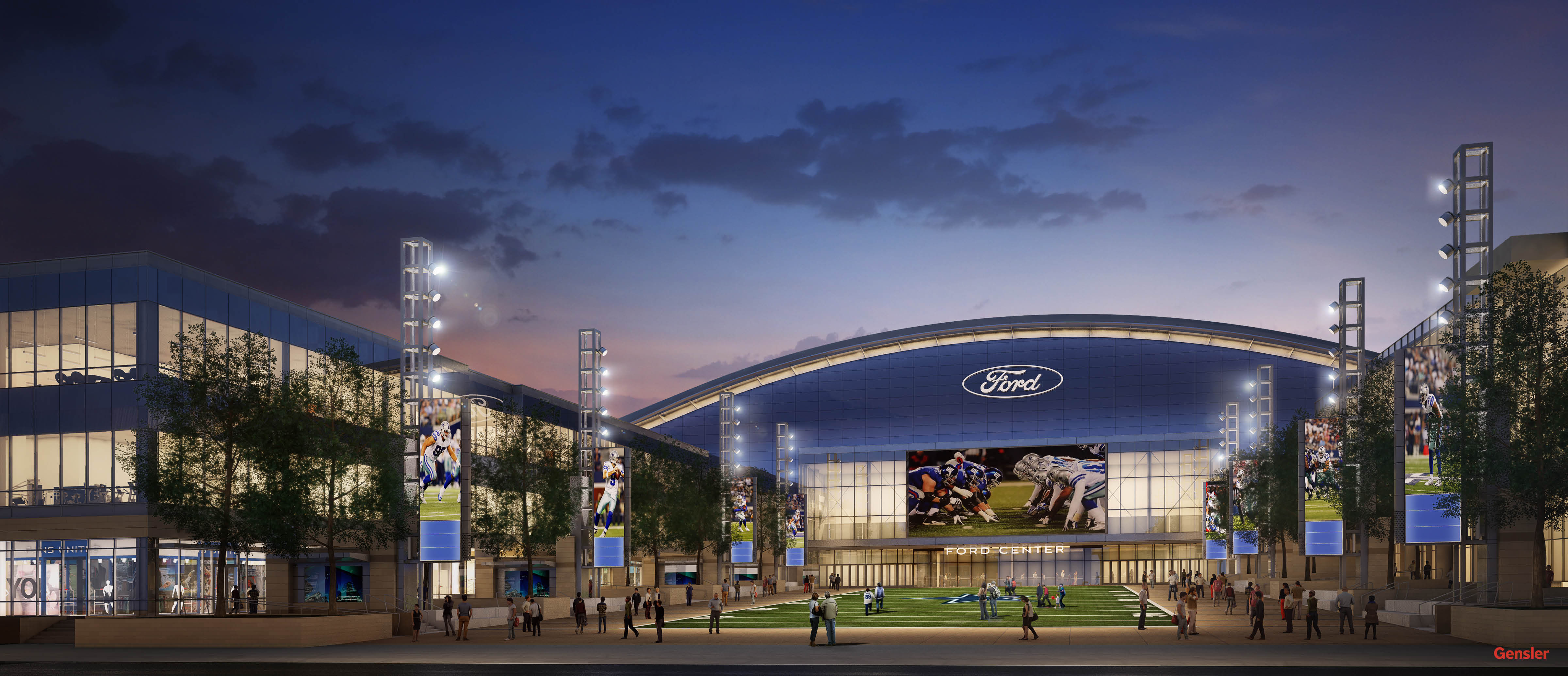 Ford Center At The Star New Name For The Dallas Cowboys