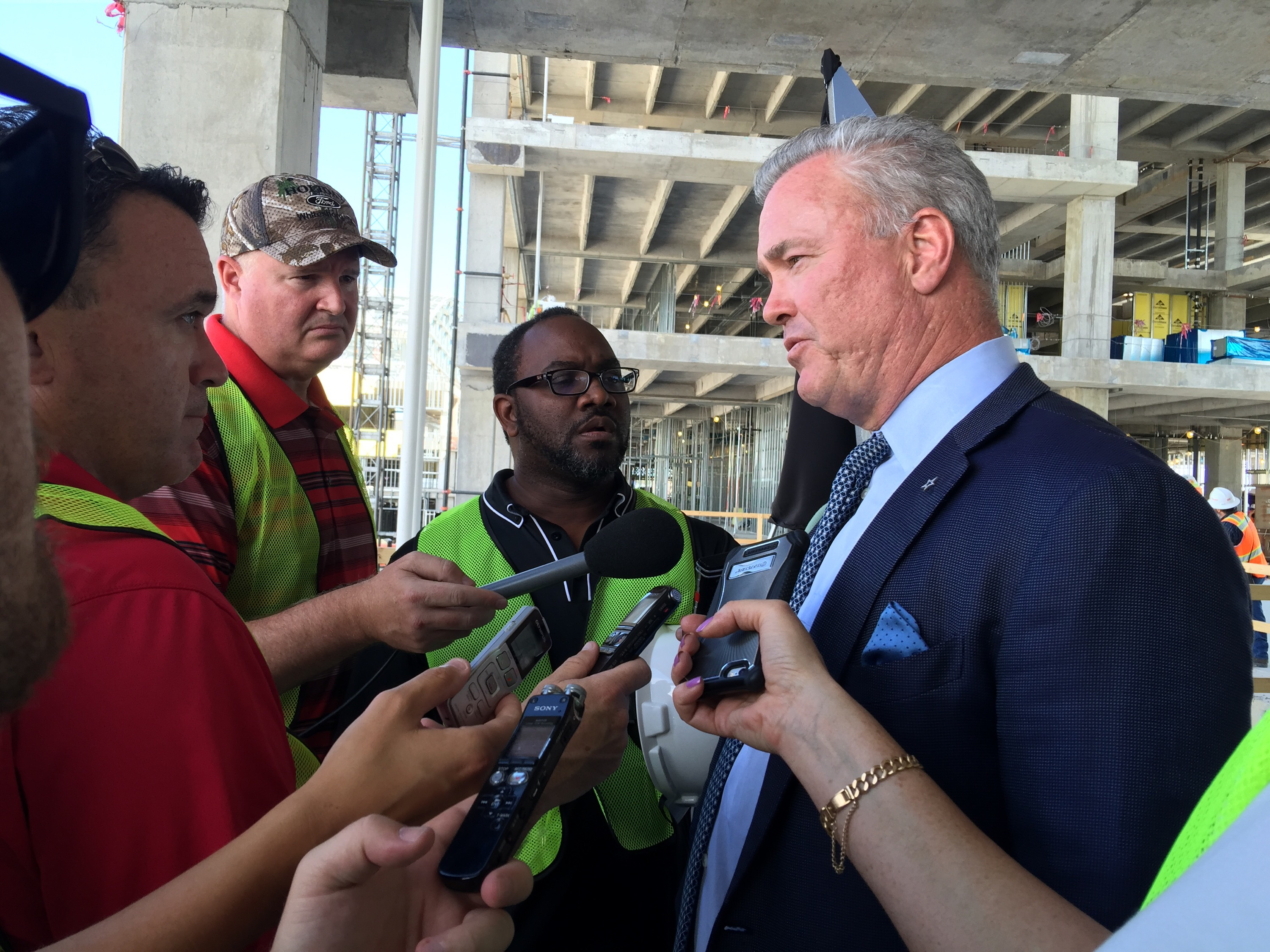 Stephen Jones - COO / Executive Vice Preside and Director of Player Personnel of Dallas Cowboys