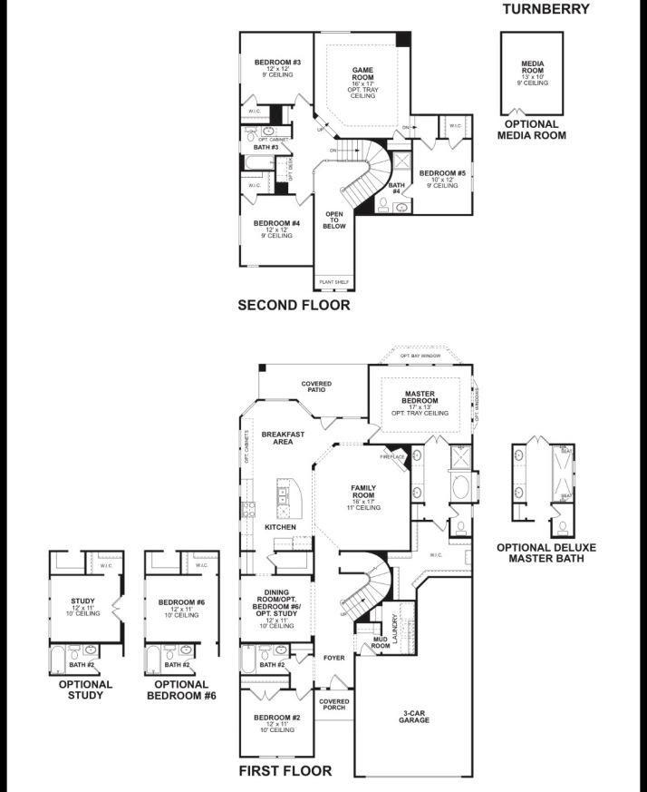 Brinkmann ranch update frisco richwoods lexington for Mi homes ranch floor plans