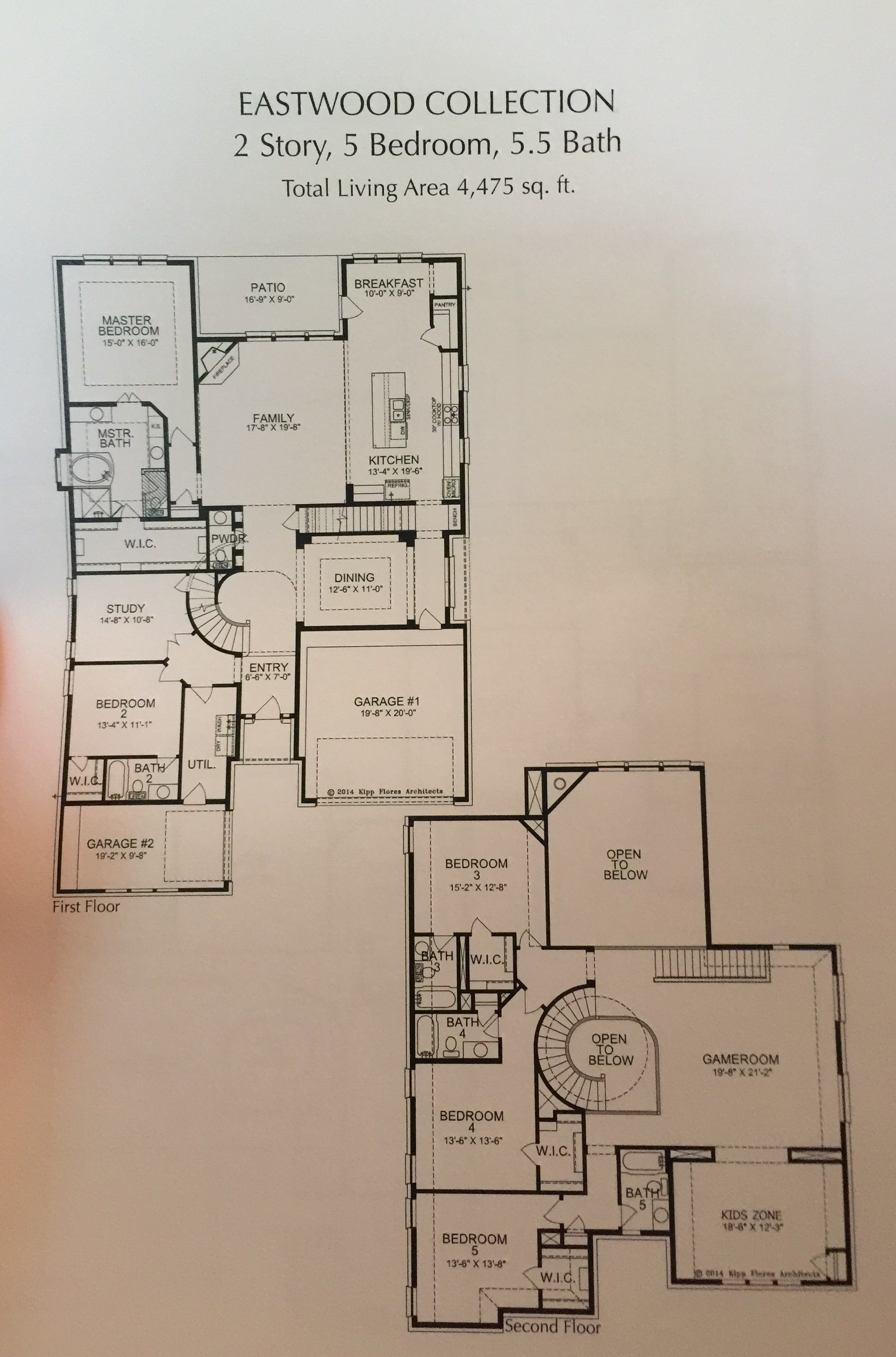 The eastwood floorplan in stucco by landon homes at for Landon homes floor plans