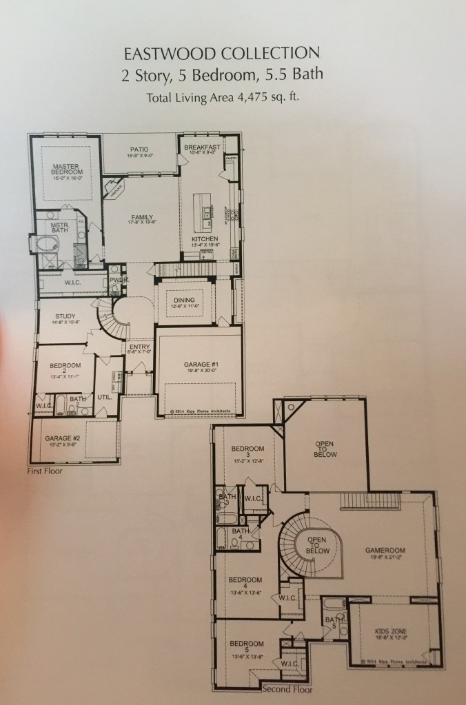 Eastwood Floorplan