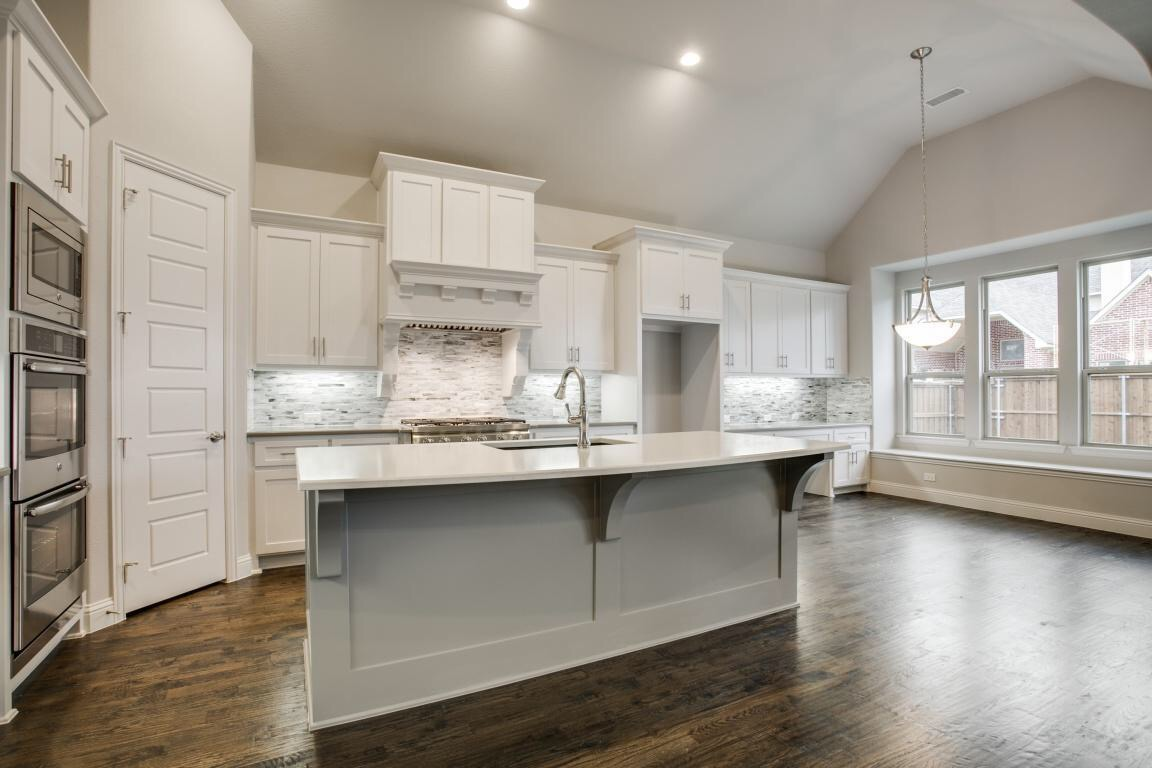 Shaddock Homes Model at the Lexington Development in Frisco is ...