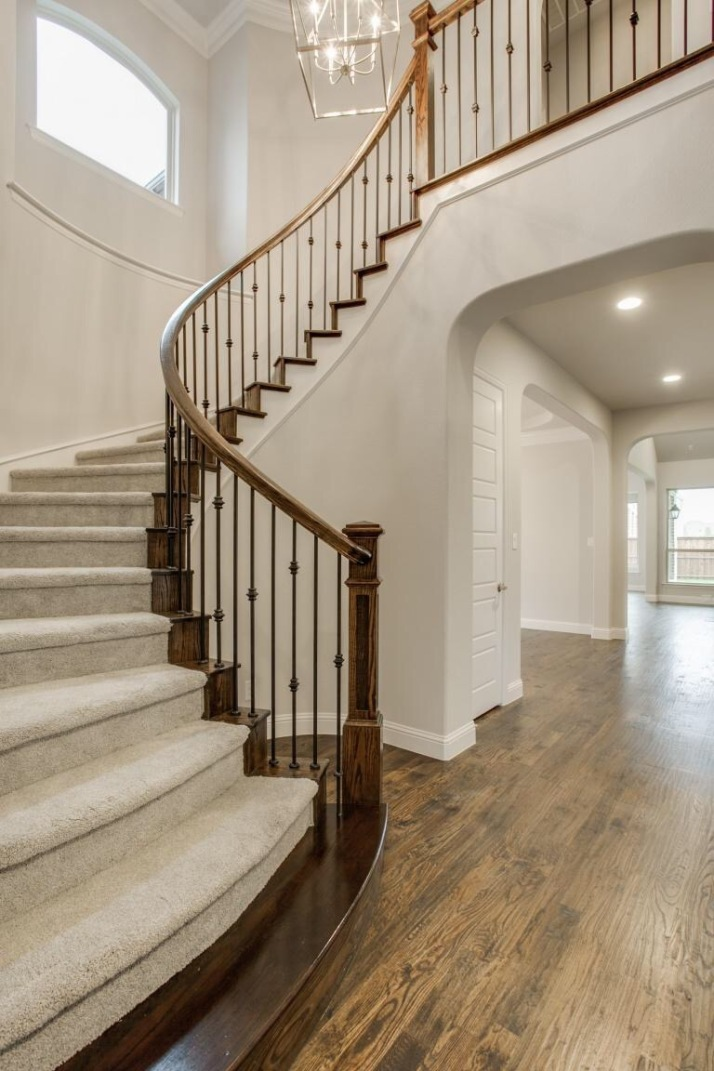 Shaddock Homes Spiral Staircase