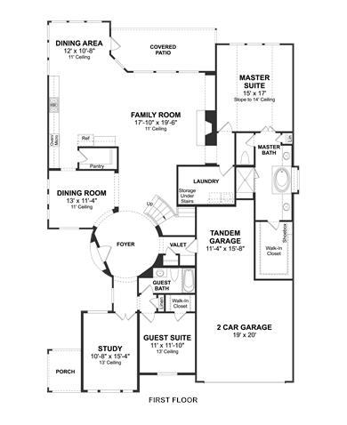 Westlake Floorplan