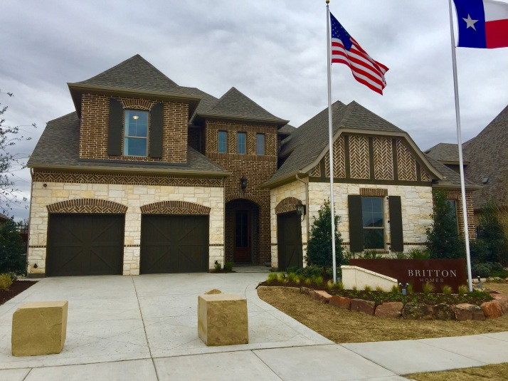 Britton Homes Hollyhock Frisco