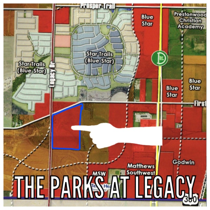 The Parks at Legacy in Prosper
