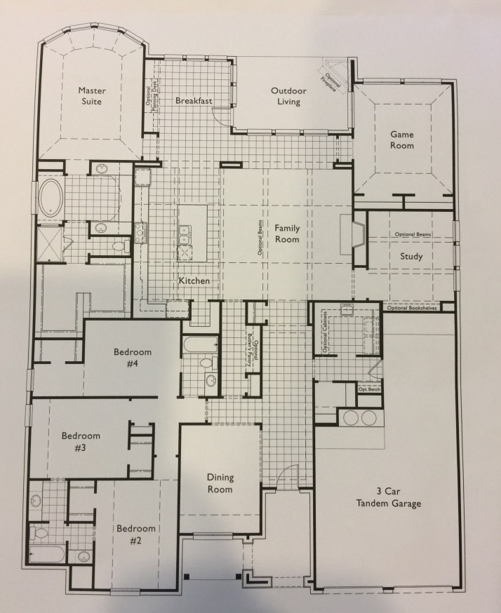 Highland Homes 292 Floorplan