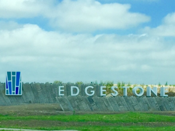 Edgestone Sign Frisco